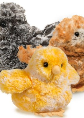 Douglas Toys Plush Chick Brown