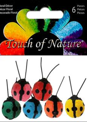 Midwest Design Ladybugs .25 Inch Assorted Colors