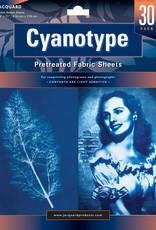 Jacquard Cyanotype Fabric 8.5 x 11 Inch 30 Sheets