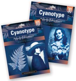 Jacquard Cyanotype Fabric 8.5 x 11 Inch 10 Sheets