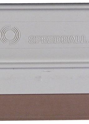 "Speedball Beige Plastic Squeegee 9"""