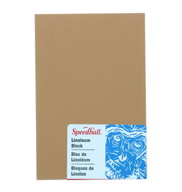 Speedball Linoleum Block 4 X 6 Inch