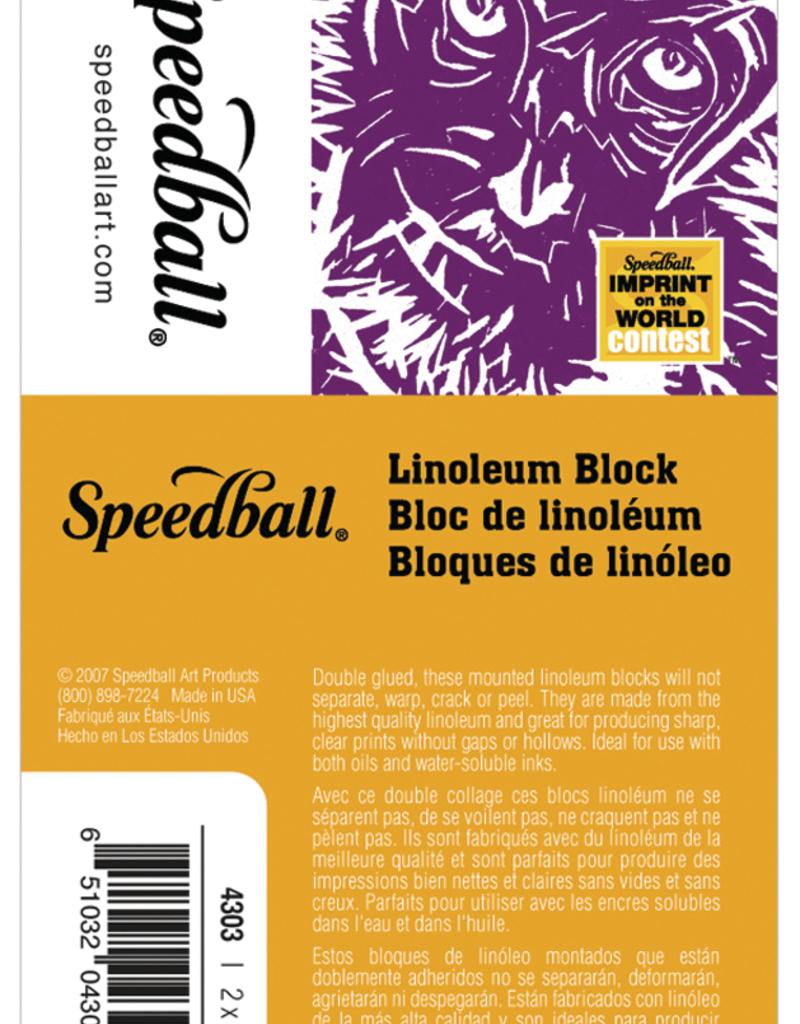Speedball Linoleum Block 2 X 3 inch