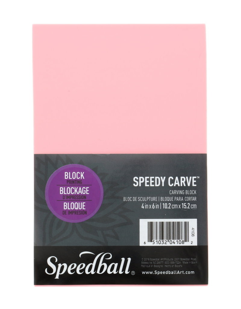 Speedball Speedy Carve Stamp Block 4 X 6