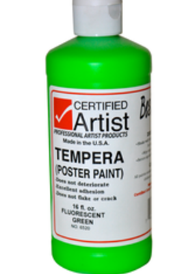 BesTemp Tempera Liquid Paint 16 oz. Fluorescent