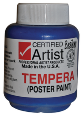 BesTemp Tempera Liquid Paint 2oz.