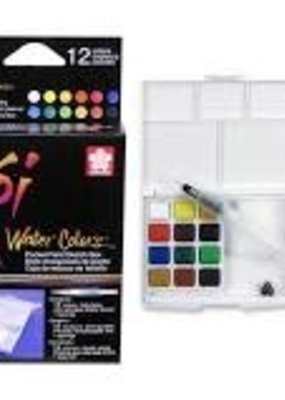 Sakura Watercolor Set Koi 12 Piece