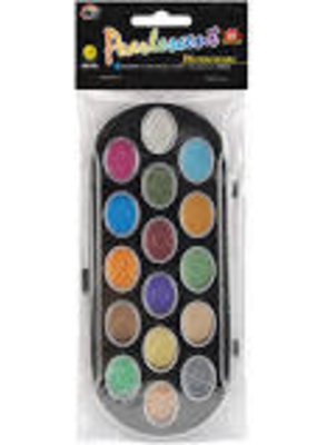 Yasutomo Watercolor Pearlescent Set 16 Colors