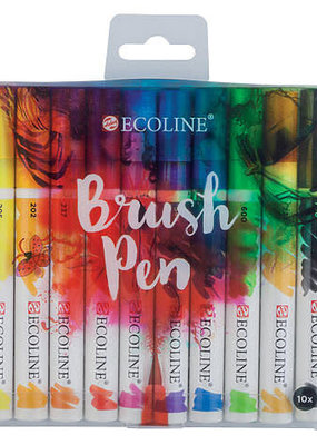 Ecoline Ecoline Watercolor Brushpen Set Of 10