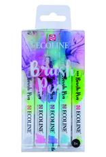 Ecoline Ecoline Watercolor Brush Pen Pastel Set of 5
