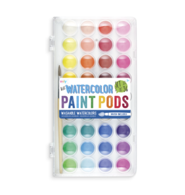 Ooly Lil Paint Pods Watercolor Set Of 36