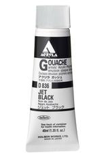 Holbein Acryla Gouache Jet Black 40ml