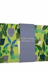Roger La Borde Correspondence Card Wallet Jungle Interior