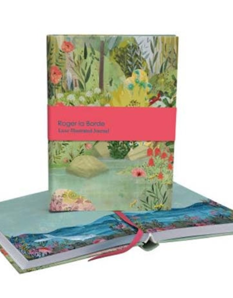 Roger La Borde Luxe Illustrated Journal Dreamland Blank