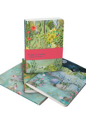 Roger La Borde Soft Cover Notebook Set of 3 Dreamland