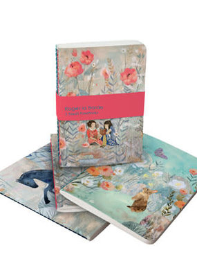 Roger La Borde Soft Cover Notebook Set of 3 Daydreamers