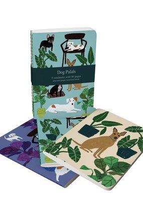 Roger La Borde Soft Cover Notebook Set of 3 Dog Palais