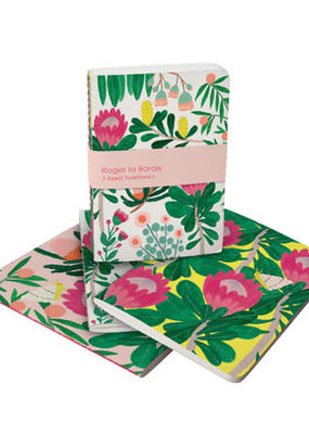 Roger La Borde Soft Cover Notebook Set of 3 King Protea