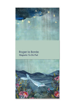 Roger La Borde Magnetic To Do Pad Narwhal