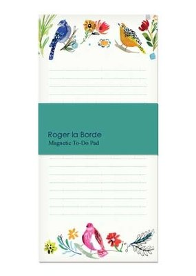 Roger La Borde Magnetic To Do Pad Bird Life