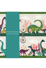 Roger La Borde Letter Writing Set Dinosaur Land