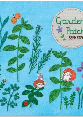 noted Garden Patch Herb Garden Seed Paper