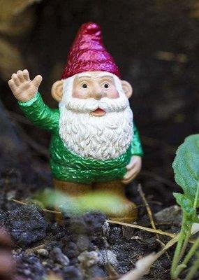 Safari Green Gnome Figurine