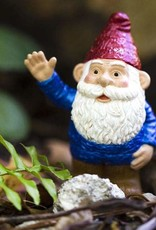 Safari Blue Gnome Figurine