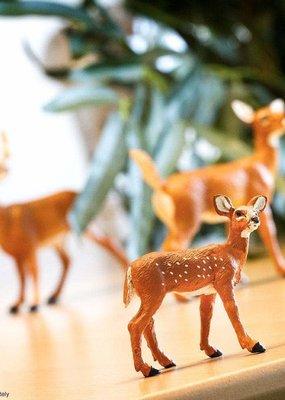 Safari Whitetail Fawn Figurine
