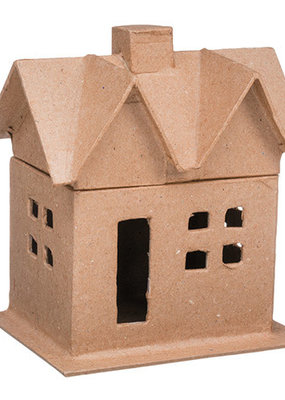 Darice Paper Mache House Box