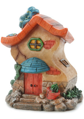 Darice Resin Fairy House 4.75 x 6 Inches