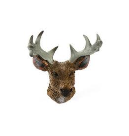 Timeless Minis Mini Deer Head with Antlers Resin