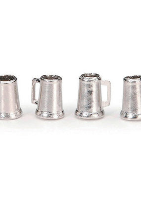 Timeless Minis Mini Pewter Beer Mugs