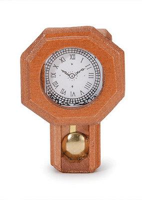 Timeless Minis Mini Wooden Pendulum Wall Clock
