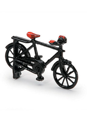 Timeless Minis Mini Black Metal Bicycle