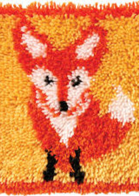 Wonderart Latch Hook Kit Little Fox