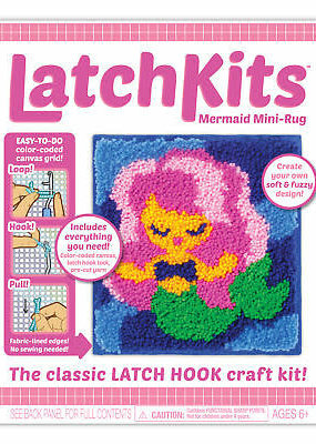 Kahootz Latch Hook Kit Mermaid