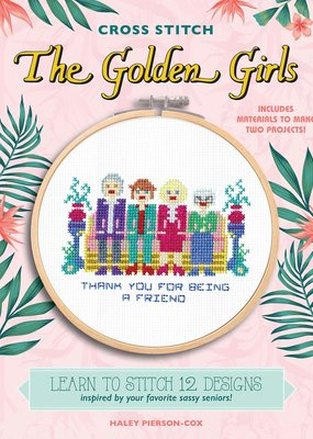Hachette The Golden Girls Cross Stitch Kit