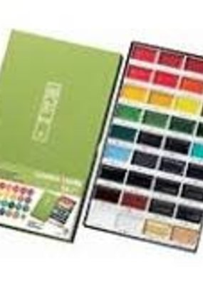 Kuretake Zig Gansai Tambi Watercolors 36 Color Set