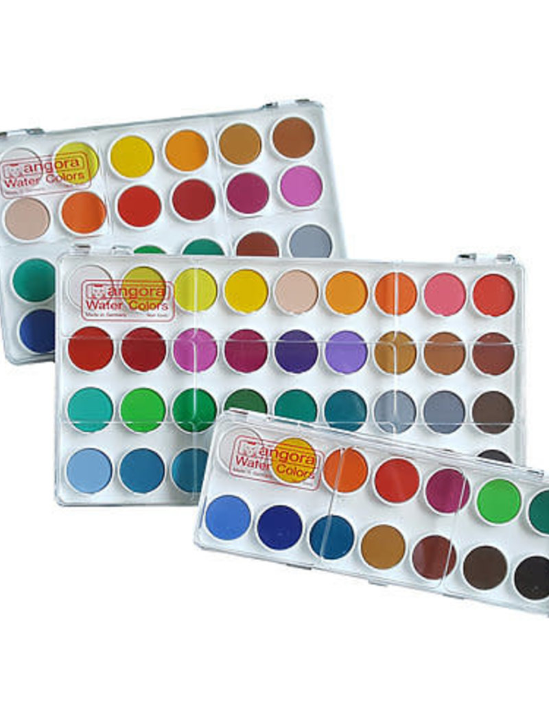 Angora Watercolor Pan Set Angora 36 Color