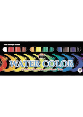 Yasutomo Niji Watercolor Set 12 Tubes