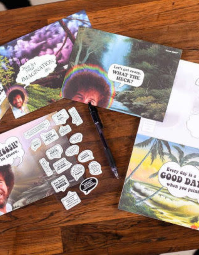 Simon & Schuster Bob Ross Quote Cards