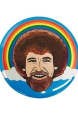The Found Round Magnet Bob Ross Rainbow