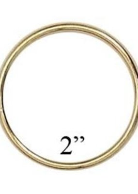 Darice Metal Ring Gold 2 Inches