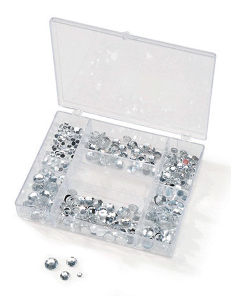Darice Gems in a Box Crystal 300 Pieces