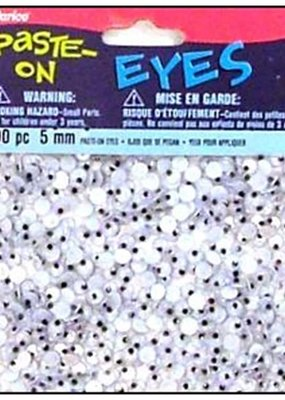 Darice Googly Eyes Paste On 5mm 400 Pieces