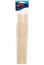Darice Darice Wood Dowel Rods 5/16 x 12 Inches 7 Piece Pack