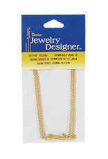 Darice Gold Chain 1 x 2 mm 18 Inches