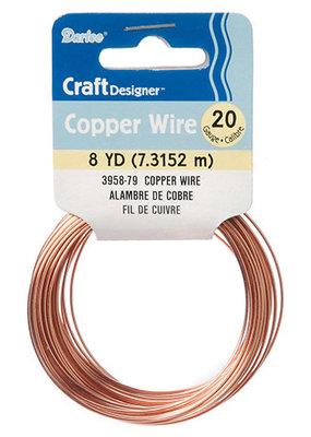Darice Craft Wire 20 Gauge Copper 8 Yards