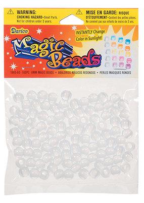 Darice Magic Beads Round 8mm 100 Pieces